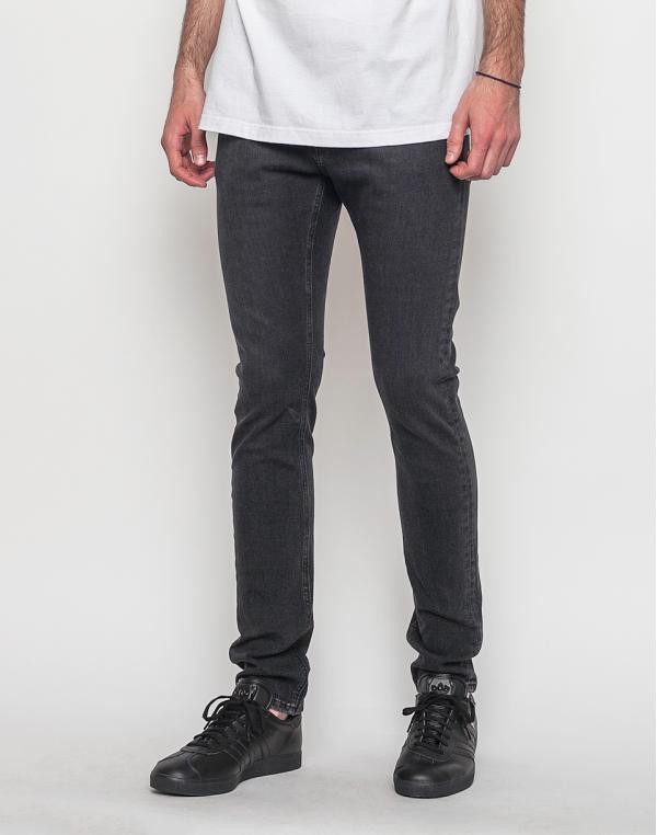 Mud Jeans Slim Lassen Stone Black W32/L32