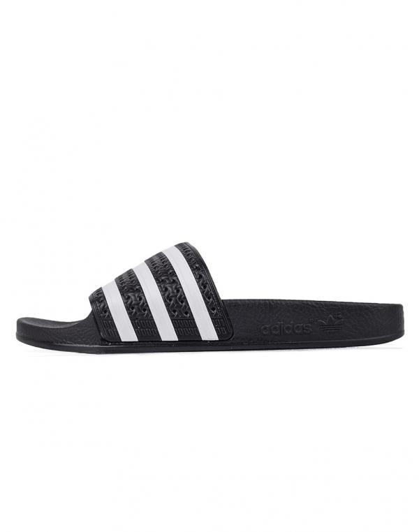 adidas Originals Adilette Black1 / White / Black1 42