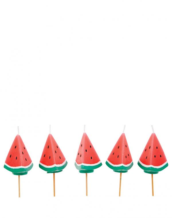 Sunnylife Watermelon Cake Candles SUGCAKWM