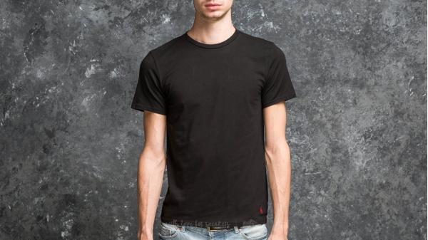 Ralph Lauren 2 Pack Short Sleeve Crew Tee Black