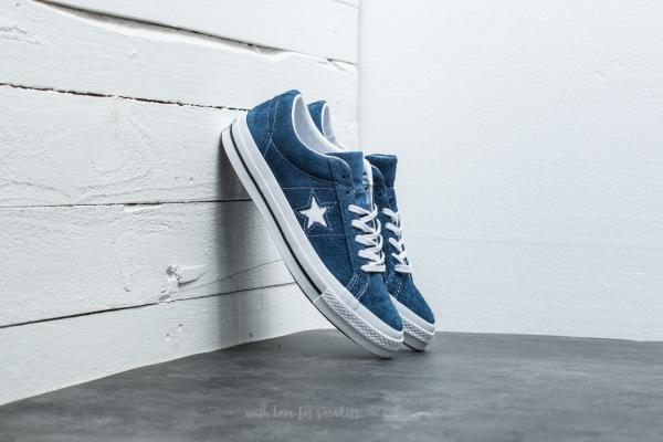 Converse One Star OX Navy/ White/ White