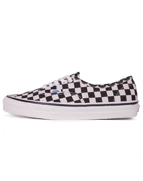Vans Authentic 44 DX (Anaheim Factory) Black / Check 42