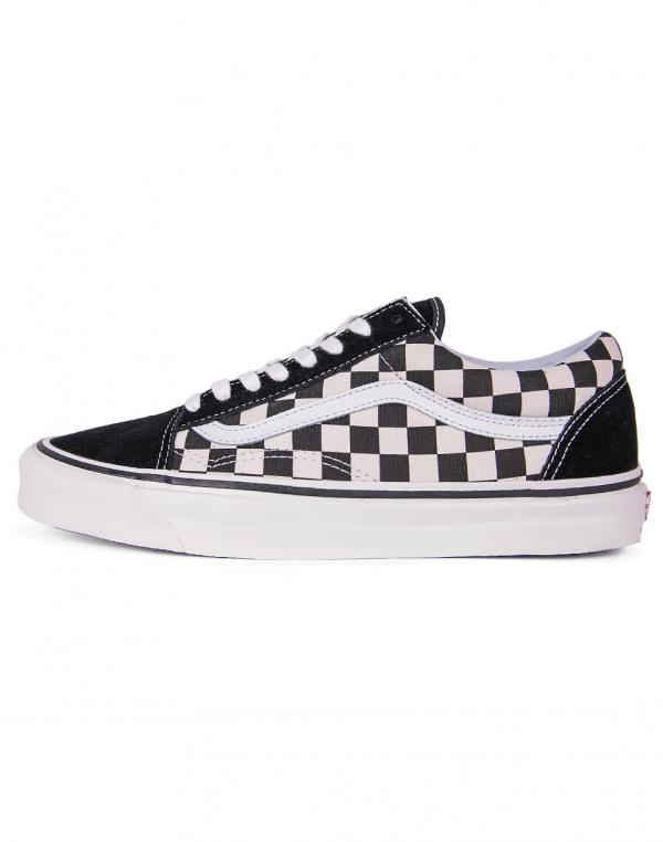 Vans Old Skool 36 DX Black / Check 42