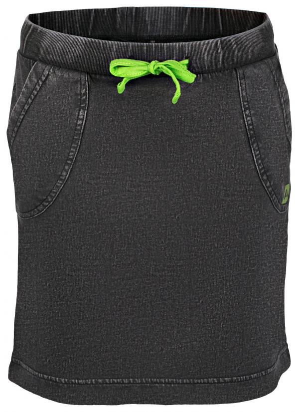 ALPINE PRO ISIBORO NEUTRÁLNÍ / ZEMITÁ Dětská sukně 104-110