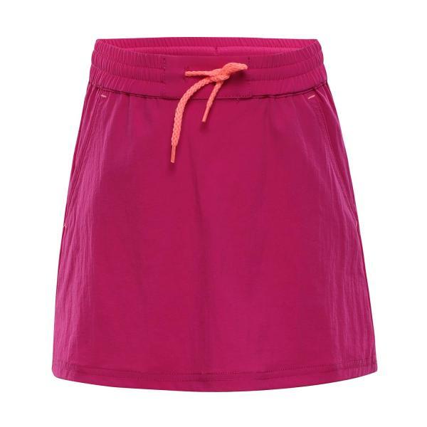 ALPINE PRO IBABO RŮŽOVÁ / FIALOVÁ Dětská sukně 140-146