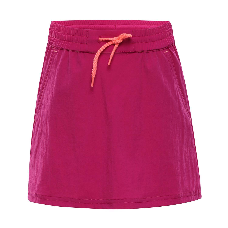 d86d3fee4030 ALPINE PRO IBABO RŮŽOVÁ   FIALOVÁ Dětská sukně 116-122