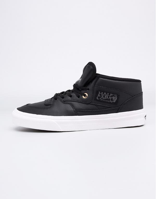 Vans Half Cab DX (Leather) Black/Gold 37