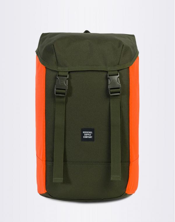 Herschel Supply Iona Forest Night / Vermillion Orange