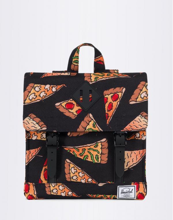 Herschel Supply Survey Kids Black Pizza