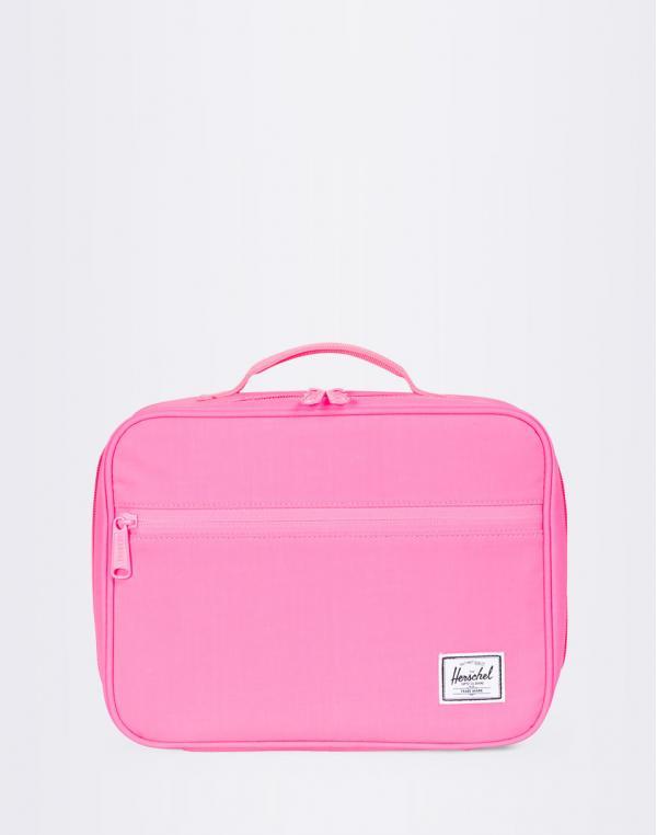 Herschel Supply Pop Quiz Lunchbox neon pink